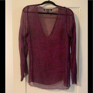 Winter Kate Vintage Silk top